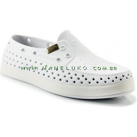 Sapato King Slip Social - Branco