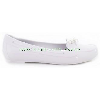 Sapatilha Elisa - Branco com palmilha Ícones Cinza