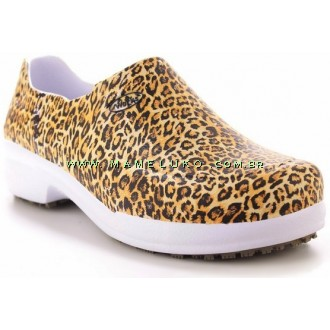 Sapato Profissional Soft Works II Estampado - Onça