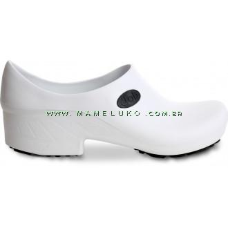 Sapato Antiderrapante para Terrenos Arenosos Sticky Shoe JOB - Branco