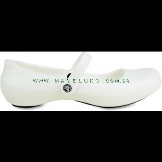Sapatilha Crocs Alice Work - Branco