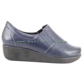 Sapato Neftali Light Work 4201 - Azul Marinho
