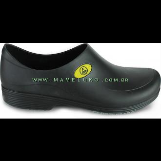 Sticky Shoe Man Antiestático - Preto