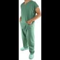 Pijama Cirúrgico Unisex - Conjunto Blusa e Calça - Verde