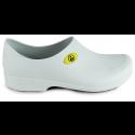 Sticky Shoe Man Antiestático ESD - Branco