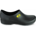 Sticky Shoe Man Antiestático ESD - Preto