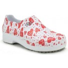 Sapato Profissional Soft Works II Estampado - Eletro Coração