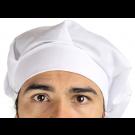 Touca Profissional de Chef - Branca