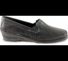 Sapato Feminino em Couro 1006 - Preto