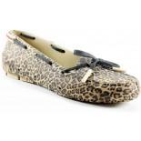 Sapatilha Soft Mania Moc Shoes - Estampa Onça
