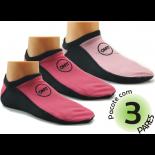 Kit com 3 pares de Meia Onfit Sport Woman - Rosa