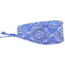 Bandana Profissional Estampada - Azul Royal