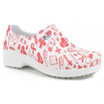 Sapato Profissional Soft Works II Estampado - Ícones Hospital