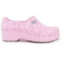 Sapato Profissional Soft Works II Estampado Rosa - Esteto Love