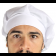 Touca de Chef - Branca
