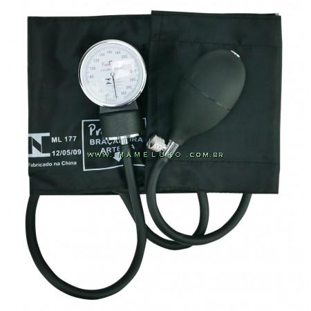 Esfigmomanômetro Aneroide - Preto