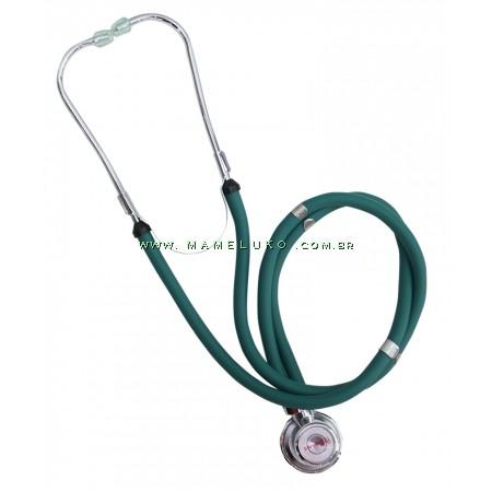 Estetoscópio Rappaport Premium - Verde