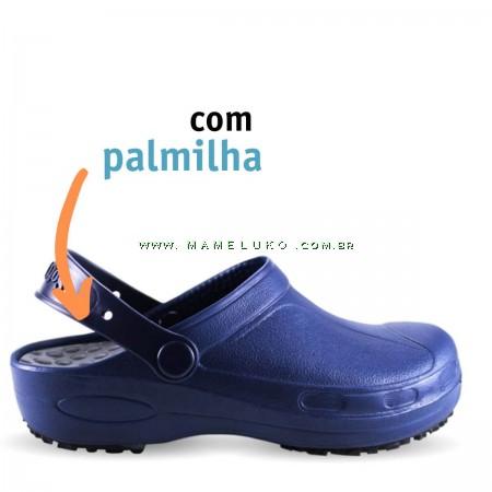 Babuche Profissional Plus com palmilha - Azul Marinho