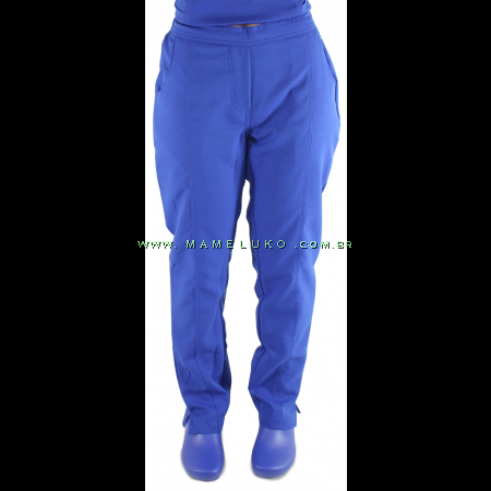 Scrub Calça Feminina - Azul Royal