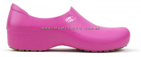 Sapato Antiderrapante Sticky Shoe Florence - Eletro Heart - Pink Rosa / Pink