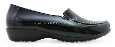 Sticky Shoe Social Woman Verniz - Preto