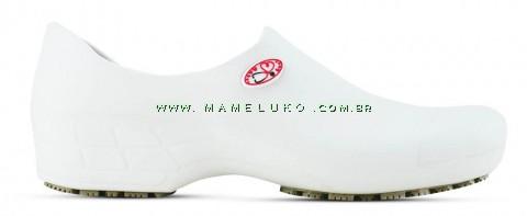 Sapato Antiderrapante Sticky Shoe Florence (COM BICO) - Esteto Love - Branco