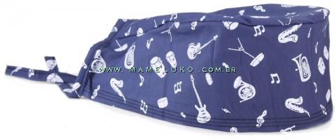 Bandana Instrumentos - Azul Marinho