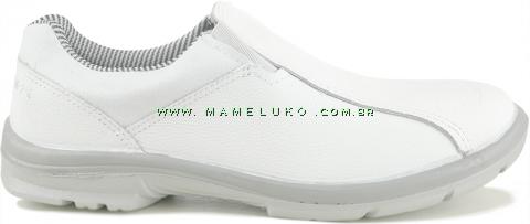 Tênis Profissional Marluvas Elegance Service em Couro - Branco