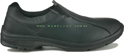 Sapato Profissional Marluvas Elegance Service Microfriba - Preto