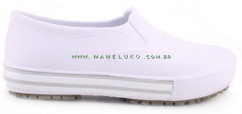 Tenis Profissional Iate Works II BB80 - Branco (Revirão Bege)
