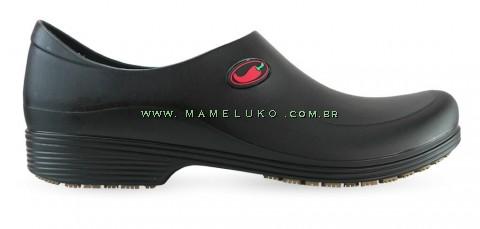 Sapato Antiderrapante Sticky Shoe Go Cook Man - Pimenta