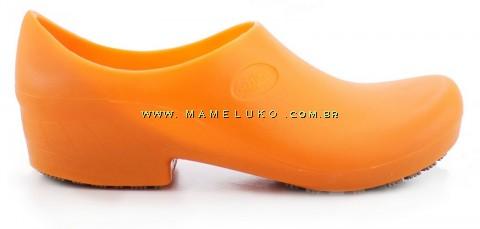 Sapato Antiderrapante Sticky Shoe 2 - Laranja