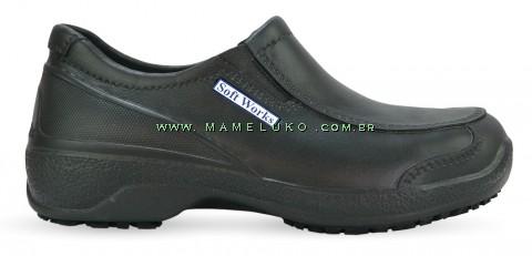 Sapato Profissional Soft Works BB67 - Preto