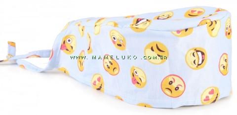 Bandana Profissional Smiles - Azul