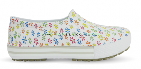 Tenis Profissional Iate Works II Estampado - Mini Flores Coloridas