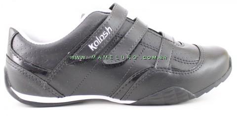 Tênis Kolosh K9352 Duplo Velcro - Preto