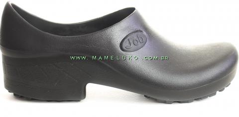 Sapato Antiderrapante para Terrenos Arenosos Sticky Shoe JOB - Preto