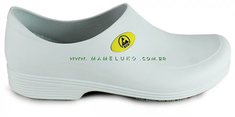 Sticky Shoe Man Antiestático - Branco