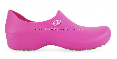 Sapato Antiderrapante Sticky Shoe Florence - Eletro Heart - Rosa
