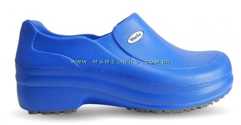 Sapato Profissional Soft Works II - Azul Royal