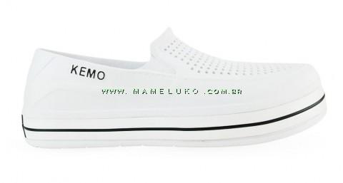 Sapato Kemo Iate Náutico - Branco