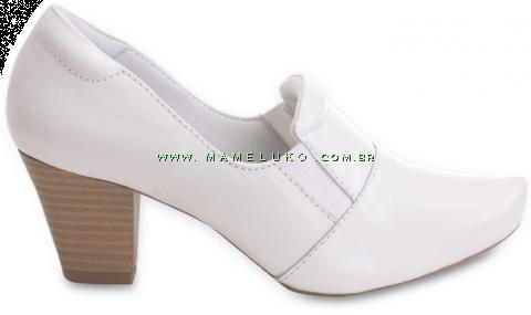 Sapato Neftali Mocassim 6903 - Branco