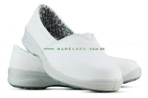Sapato Microfibra - Branco