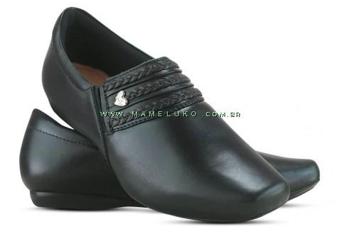 Sapato Neftali 20010 - Preto - Pin Coração