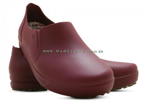 Sticky Shoes Woman Tênis Antiderrapante - Vinho