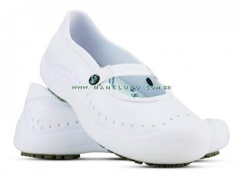 Sapatilha Antiderrapante Soft Works - Branco