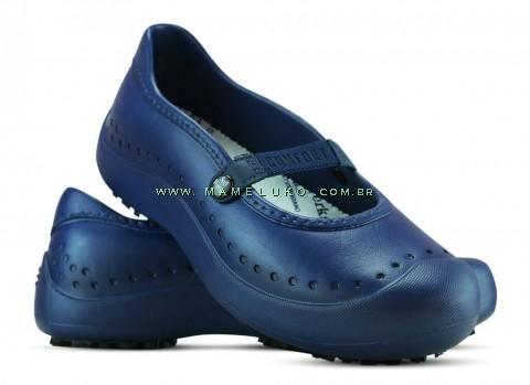 Sapatilha Antiderrapante Soft Works - Azul Marinho