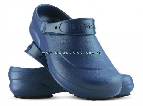 Soft Works - Azul Marinho