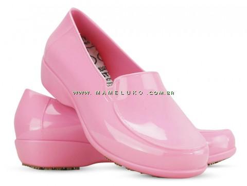 Sticky Shoe Social Woman Verniz - Rosa