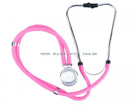 Estetoscópio Profissional Rappaport - Rosa/Pink